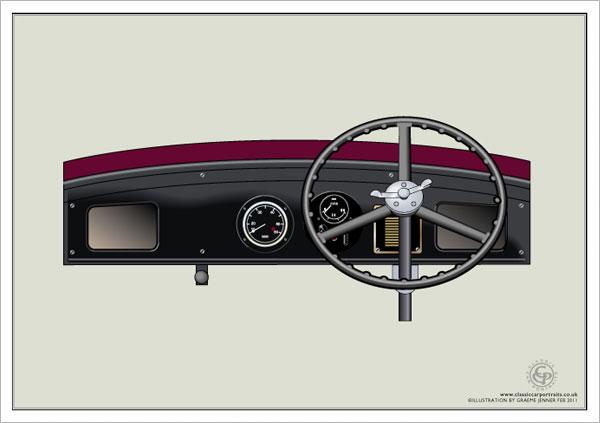 Vintage steering wheel restoration